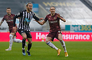 Leeds United defender Luke Ayling (2)  during the Premier League match between Newcastle United and Leeds United at St. James's Park, Newcastle, England on 26 January 2021.