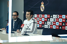 Real Madrid Press Conference - 08 February 2019