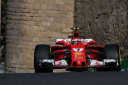 June 23, 2017 - Baku, Azerbaijan - Motorsports: FIA Formula One World Championship 2017, Grand Prix of Europe, ..#7 Kimi Raikkonen (FIN, Scuderia Ferrari) (Credit Image: © Hoch Zwei via ZUMA Wire)