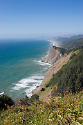 Vertical of view north from Pacific Coast Trail