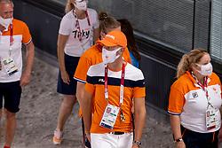Werner Nicole, NED, Minderhud Hans Peter, NED<br /> Olympic Games Tokyo 2021<br /> © Hippo Foto - Dirk Caremans<br /> 28/07/2021