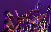 Captured a moment in action of Elec Simon a dynamic Percussionist. His accolades includes drummer for Cleveland Cavaliers, N.B.A all Star Games and STOMP-New York City & U.S tour and Anti Bulling motivating speaker at schools.