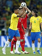 Serbia v Brazil - 27 June 2018