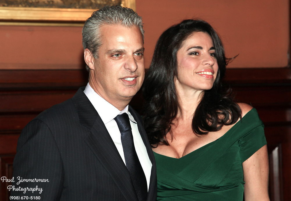 NEW YORK, NY - MARCH 17:  (L-R) Eric Ripert and Sondra Ripert attend the Lycee Francais de New York 2012 gala at the Park Avenue Armory on March 17, 2012 in New York City.  (Photo by Paul Zimmerman/WireImage)