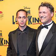 NLD/Scheveningen/20161030 - Premiere musical The Lion King, Bas Westerweel en ..............