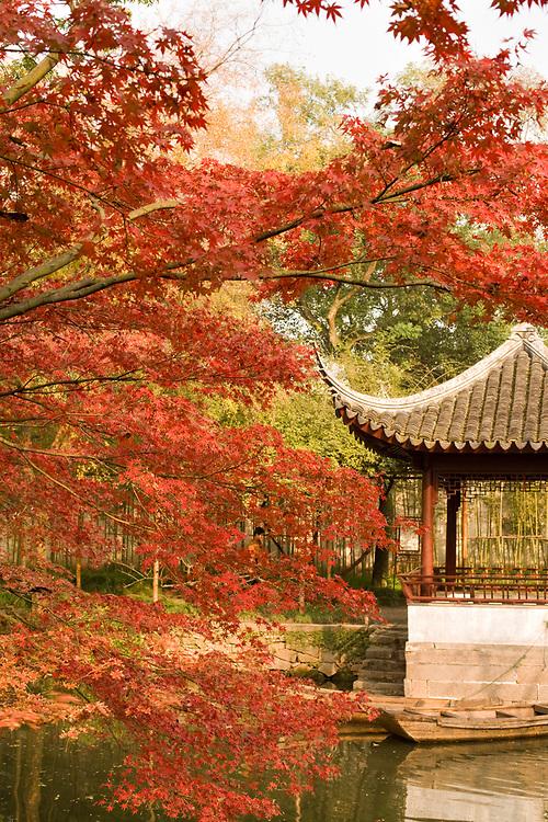 The Humble Administrator Garden, Suzhou, Jiangsu province, China, Asia