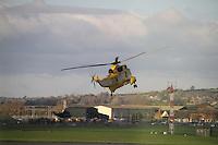 Royal Air Force Westland Sea King Royal Naval Air Station Yeovilton Base Tour, UK, 25 November 2010: piQtured Sales: Ian@Piqtured.com +44(0)791 626 2580 (picture by Richard Goldschmidt)