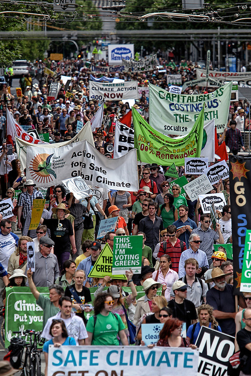 State election rally calling on all political parties to commit to replace ALL of Hazelwood, Australia?s dirtiest power station, and move Victoria to a renewable energy powered future. - Pic By Craig Sillitoe 06/11/2010 melbourne photographers, commercial photographers, industrial photographers, corporate photographer, architectural photographers, This photograph can be used for non commercial uses with attribution. Credit: Craig Sillitoe Photography / http://www.csillitoe.com<br /> <br /> It is protected under the Creative Commons Attribution-NonCommercial-ShareAlike 4.0 International License. To view a copy of this license, visit http://creativecommons.org/licenses/by-nc-sa/4.0/.
