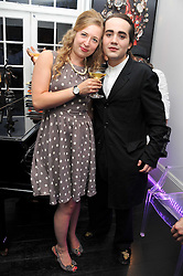 SUSAN PARKES and CHARLIE ELIASCH at the after party for the press night of 'As I Like It' held at the home of Amanda Eliasch, 24 Cheyne Walk, London on 5th July 2011.