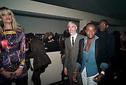 'JOY VIELI ; JASON BOATENG, ' We think you rock' Bjorn Borg launch. Battersea Power station. London. 16 February 2012.