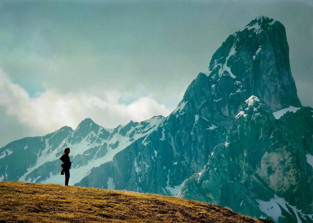 Passo Giao, Dolomites, Italy