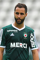 Florian Makhedjouf of Red Star during the French Ligue 2 match between Red Star and Auxerre at Stade Jean Bouin on July 30, 2016 in Paris, France. ( Photo by Andre Ferreira / Icon Sport )