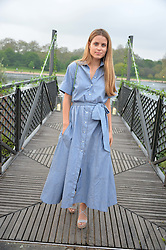 IRENE FORTE at a party to launch the Taylor Morris Explorer Collection held at the Serpentine Lido, Hyde Park, London on 11th May 2016.