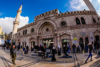 Grand Husseini Mosque, Downtown Amman, Jordan.