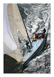Sailing - The 2007 Bell Lawrie Scottish Series hosted by the Clyde Cruising Club, Tarbert, Loch Fyne..Brilliant first days conditions for racing across the three fleets..IRC Class 2 Lafayette GBR2 8M..