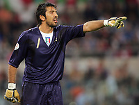 "Gianluigi Buffon (Italy)<br /> Qualify of European Football 2008 <br /> 07 October 2006<br /> Italy-Ucraine 2-0<br /> ""Olympic"" Stadium-Rome-Italy<br /> Photographer Luca Pagliaricci INSIDE"
