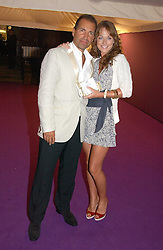 RICHIE NOTAR Robert de Niro's business partner in Nobu and his wife JANE WOGAN at The Summer Ball in Berkeley Square , Londin W1 in aid of the Prince's Trust on 6th July 2006.<br /><br />NON EXCLUSIVE - WORLD RIGHTS