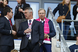 April 28, 2018 - France - Hans Peter Wild (a droite) patron du Stade Francais (Credit Image: © Panoramic via ZUMA Press)