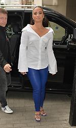 Demi Lovato seen at BBC studios. 27 Sep 2017 Pictured: Demi Lovato. Photo credit: PALACE LEE / MEGA TheMegaAgency.com +1 888 505 6342