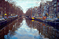 Amsterdam canal in 1977