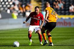 Jack Hunt of Bristol City takes on Jarrod Bowen of Hull City - Mandatory by-line: Robbie Stephenson/JMP - 24/08/2019 - FOOTBALL - KCOM Stadium - Hull, England - Hull City v Bristol City - Sky Bet Championship