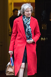 Downing Street, London, November 24th 2015. Home Secretary Theresa May leaves Downing Street following the weekly cabinet meeting. ///FOR LICENCING CONTACT: paul@pauldaveycreative.co.uk TEL:+44 (0) 7966 016 296 or +44 (0) 20 8969 6875. ©2015 Paul R Davey. All rights reserved. leaves Downing Street following the weekly cabinet meeting. ///FOR LICENCING CONTACT: paul@pauldaveycreative.co.uk TEL:+44 (0) 7966 016 296 or +44 (0) 20 8969 6875. ©2015 Paul R Davey. All rights reserved.