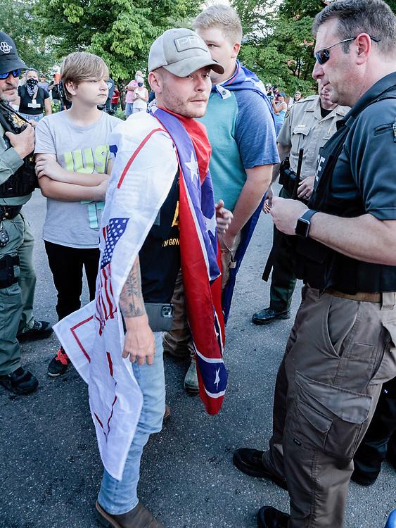 #BlackLivesMatter Protest, Rogersville, TN 200711