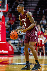 NORMAL, IL - November 10: Ben Coupet Jr. during a college basketball game between the ISU Redbirds and the Little Rock Trojans on November 10 2019 at Redbird Arena in Normal, IL. (Photo by Alan Look)