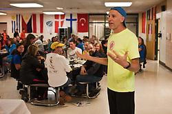MDI Marathon: Zoe Romano speaks at Pasta Dinner, Gary Allen