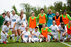 Team of Olimpija after football match between ZNK Pomurje and ZNK Olimpija in 21st Round of Slovenska zenska nogometna liga 2020/21, on 22 of May, 2021 in TSC Trate, Gornja Radgona, Slovenia. Photo by Blaž Weindorfer / Sportida