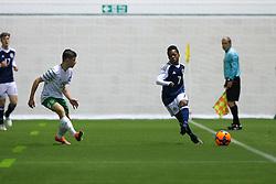 Scotland's Karamoko Dembele. Scotland 0 v 3 Repulic of Ireland, Under 16 Victory Shield played at Oriam, Edinburgh.
