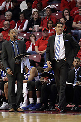 22 December 2015: Dana Ford on right. Illinois State Redbirds host the Tennessee State Tigers at Redbird Arena in Normal Illinois (Photo by Alan Look)