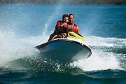 jet Ski Fun on Lake Macquarie, Australia