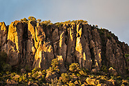 The Davis Mountains in Fort Davis, Texas.