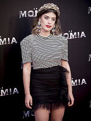 May 29, 2017 - Madrid, Spain - Dulceida attends 'The Mummy' premiere at Callao Cinema on May 29, 2017 in Madrid, Spain. (Credit Image: © Coolmedia/NurPhoto via ZUMA Press)