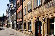 Wrocław, 2007-05-01. Ulica Psie Budy we Wrocławiu