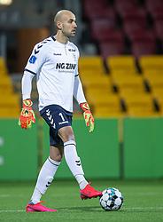 Matej Delač (AC Horsens) under kampen i 3F Superligaen mellem FC Nordsjælland og AC Horsens den 19. februar 2020 i Right to Dream Park, Farum (Foto: Claus Birch).