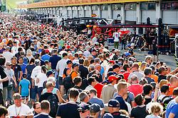 July 6, 2017 - Spielberg, Austria - Motorsports: FIA Formula One World Championship 2017, Grand Prix of Austria, .Fans  (Credit Image: © Hoch Zwei via ZUMA Wire)
