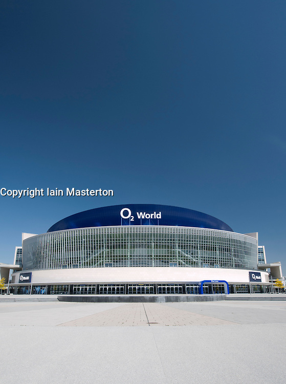 The O2 Arena in Friedrichshain in Berlin Germany