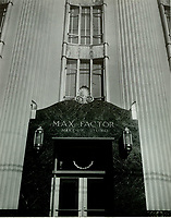 1967 Entrance to the Max Factor Salon on Highland Ave.