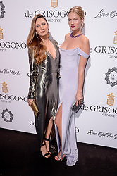 Siran Manoukian, Toni Garrn attending the de Grisogono party ahead the 70th Cannes Film Festival, at Eden Roc Hotel in Antibes, France on May 23, 2017. Photo Julien Reynaud/APS-Medias/ABACAPRESS.COM