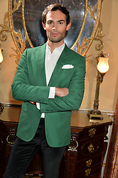 MARK-FRANCIS VANDELLI at an evenig of Jewellery & Photography to launch the Buccellati 'Opera Collection' held at Spencer House, London on 21st October 2015.