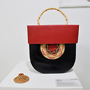 Red and Black by Wang Qin I SHACM at Amazing China: A Multidisciplinary Exhibition of Chinese Arts and Crafts host by National base of International Cultural Trade (Shanghai) on 10 May 2019, at The Hospital Club 24 Endell Street, London, UK.