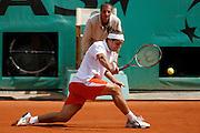 Roland Garros. Paris, France. May 31st 2007..Gaston GAUDIO against Lleyton HEWITT.