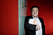 Bobby Lee of BTC China photographed at his office in Shanghai, China on 16 December 2013. BTC China is quickly becoming the world's largest Bitcoin exchange in the world.
