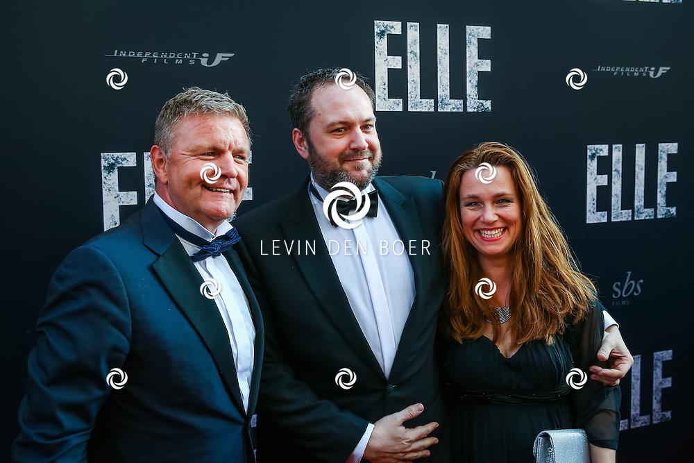 AMSTERDAM - De Nederlandse premiere van Elle, de nieuwste film van regisseur Paul Verhoeven. Met hier Rene Mioch op de rode loper. FOTO LEVIN & PAULA PHOTOGRAPHY