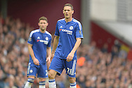 Nemanja Matic of Chelsea looks on.Barclays Premier League, West Ham Utd v Chelsea at The Boleyn Ground, Upton Park in London on Saturday 24th October 2015.<br /> pic by John Patrick Fletcher, Andrew Orchard sports photography.