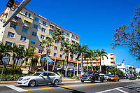 US, Florida, Miami Beach. Collins Ave.