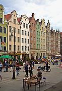 Gdańsk; 2008-06-22. Stare Miasto w Gdańsku.