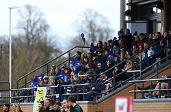 Lots of support for Bristol Bears Women at Shaftesbury Park for Tyrrells Premier 15's - Mandatory by-line: Paul Knight/JMP - 01/12/2018 - RUGBY - Shaftesbury Park - Bristol, England - Bristol Bears Women v Harlequins Ladies - Tyrrells Premier 15s